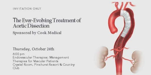 The Ever-Evolving Treatment of Aortic Dissection sponsored by Cook Medical