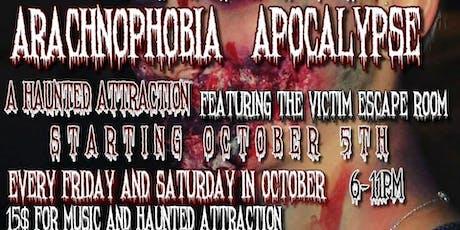 Arachnophobia Apocalypse  tickets