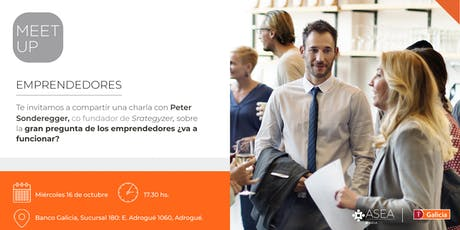 Meet Up para Emprendedores | 16/10 | ADROGUÉ entradas