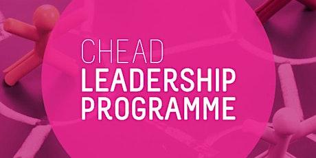 CHEAD Leadership Programme Seminar 7: People & Performance tickets