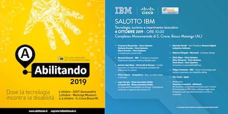 Abilitando 2019 - Salotto IBM biglietti