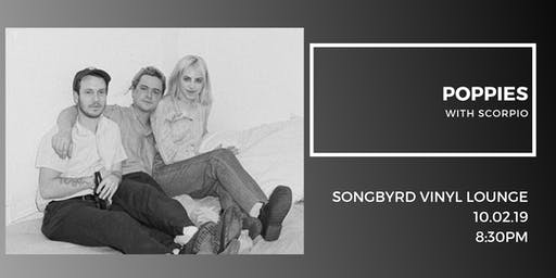 Poppies at Songbyrd Vinyl Lounge