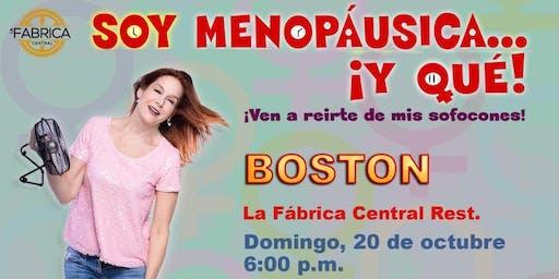 """Marian Pabón """"Soy menopáusica... ¡Y qué!"""""""
