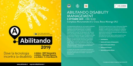 Abilitando Disability Management tickets
