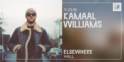 Kamaal Williams @ Elsewhere (Hall)