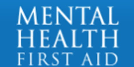 Copy of MENTAL HEALTH FIRST AID FOR ADULTS tickets