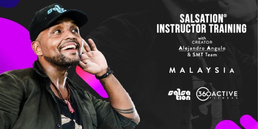 SALSATION® TRAINING WITH ALEJANDRO ANGULO (2 Days: 9th & 10th Oct)