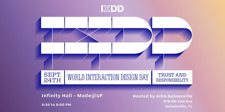 World Interaction Design Day tickets