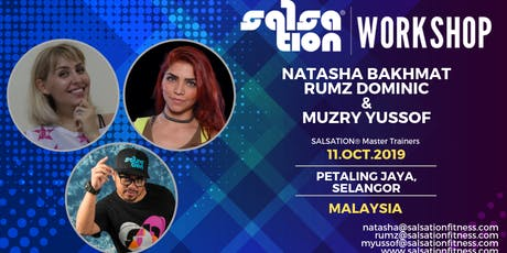 SALSATION® WORKSHOP WITH NATASHA BAKHMAT, RUMZ DOMINIC & MUZRY tickets
