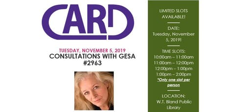 Consultations with Gesa #2963 tickets