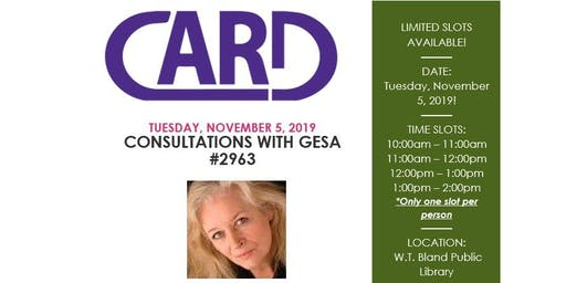 Consultations with Gesa #2963