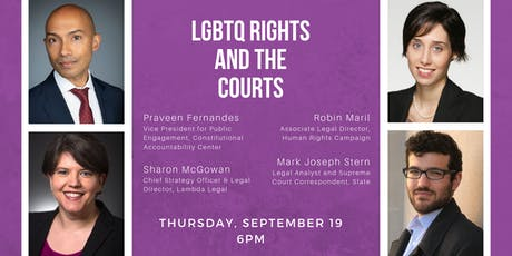 LGBTQ Rights and the Courts tickets