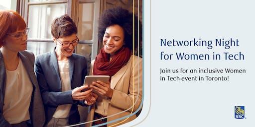 Networking Night for Women* in Tech