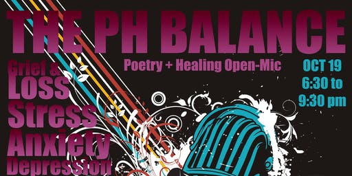 Poetry+Healing=Balance Open-Mic