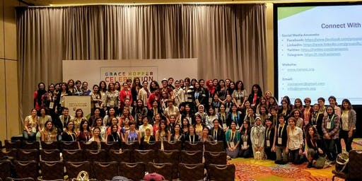 Social Celebrating Iranian Women in Technical Roles at GHC19