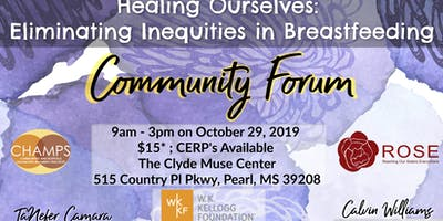 Mississippi Breastfeeding Community Forum   Healing Ourselves
