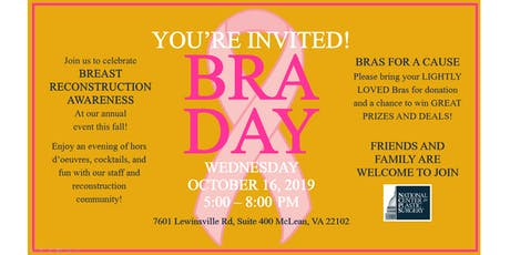 National Center for Plastic Surgery BRA Day 2019 tickets