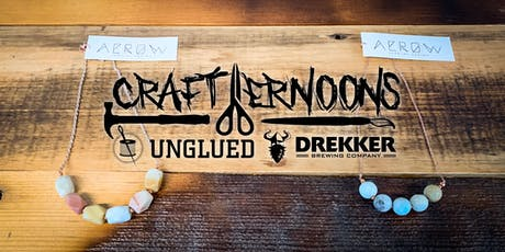 Crafternoons - Gemstone and Rose Gold Necklace tickets