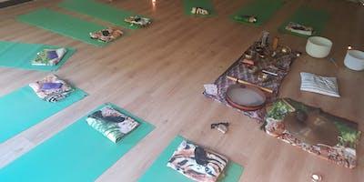 Sound Bath Stoke- Ananda Yoga Kula