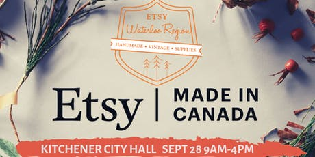 Etsy Made in Canada  tickets