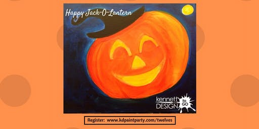 KiDs Painting - Happy Jack-O-Lantern - 10/26