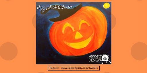 KiDs Painting - Happy Jack-O-Lantern - 10/26