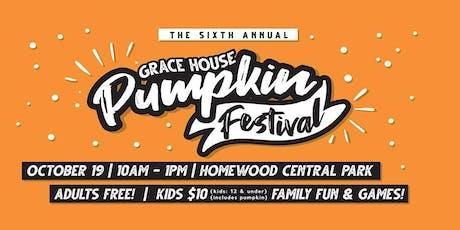 Grace House Pumpkin Festival tickets
