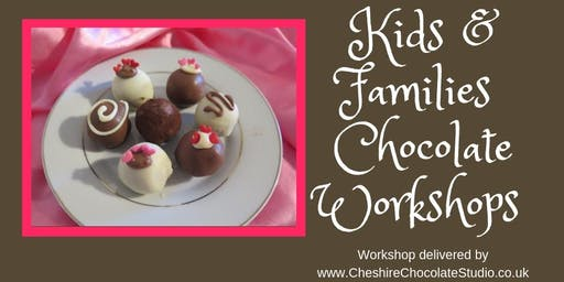 Halloween Chocolate Workshop for families Kelsall