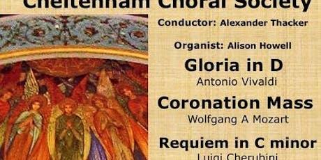 Cherubini Requiem in C Minor, Vivaldi Gloria, Mozart Coronation Mass tickets