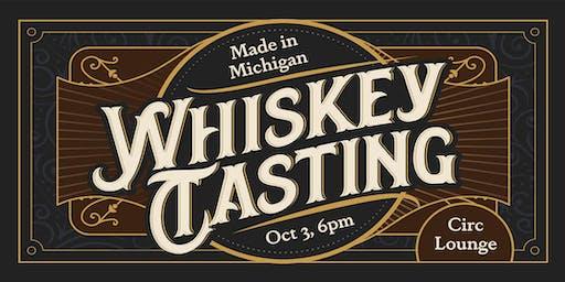 Michigan Whiskey Tasting