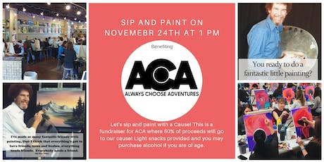Sip N Paint With a Cause tickets