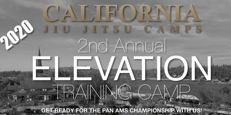 2020 ELEVATION JIU JITSU TRAINING CAMP tickets