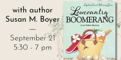 Charleston Book Party for Lowcountry Boomerang with Susan Boyer