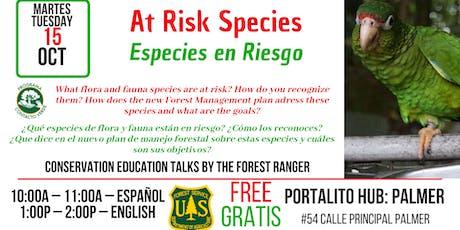Species at Risk / Especies en Riesgo tickets