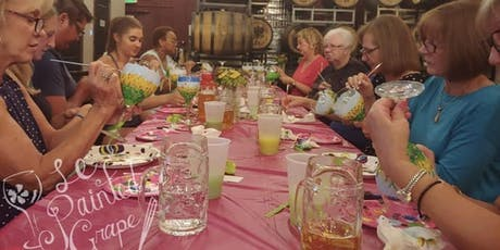 Wine Glass Painting Class at La Fleur's Winery 10/27 @ 1pm. tickets