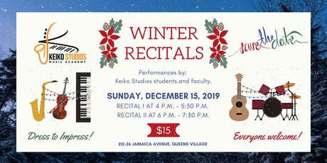 Keiko Studios' Winter Recitals 2019 tickets