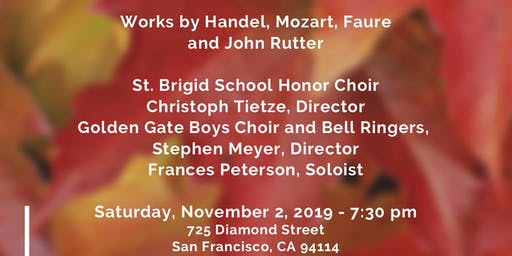 In Memoriam-A concert of sacred choral music on All Soul's Day