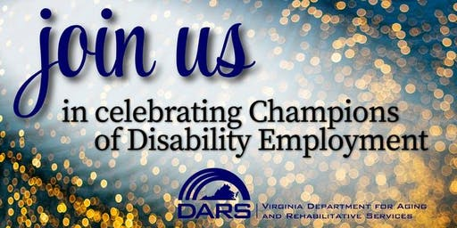 Champions of Disability Employment- Fredericksburg