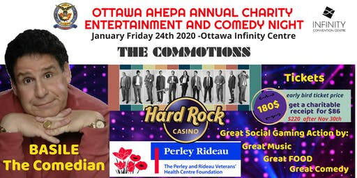 AHEPA Annual Charity Entertainment and Comedy Night