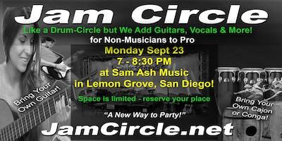 JamCircle at Sam Ash Music