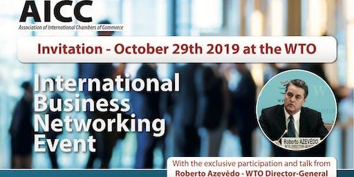 CHamBR  AICC - World Trade Organization with Mr. Roberto Azevedo - 29/10/19