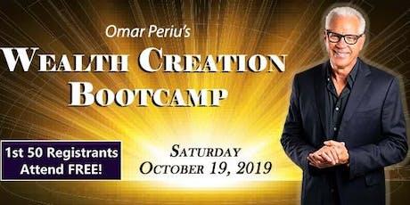 Wealth Creation Bootcamp tickets