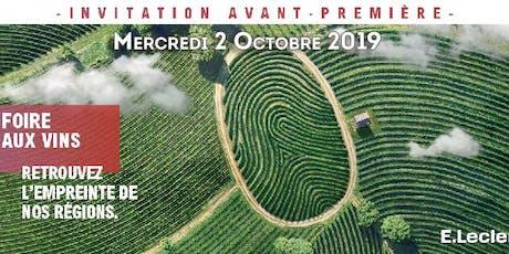 Soirée Foire aux Vins 2019 - E.Leclerc Olivet La Source billets