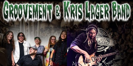 Groovement and Kris Lager Band	 Halloween Party tickets