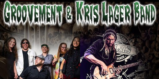 Groovement and Kris Lager Band     Halloween Party