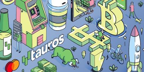 Lanzamiento Oficial de Tauros; cripto-exchange y tarjeta débito entradas