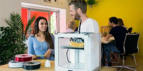 Curso presencial gratuito de Impresión 3D para profesorado de Educación Secundaria tickets