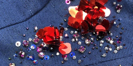 Embroidery + Beading Workshop