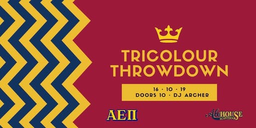TRICOLOUR THROWDOWN (All Ages)