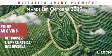 Soirée Foire aux Vins 2019 - E.Leclerc Fleury les aubrais billets